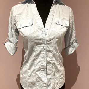 Button Up Utility Blouse